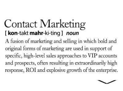 Definition of Contact Marketing
